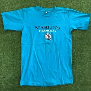 Vintage Florida Marlins Salem Single Stitch Tee
